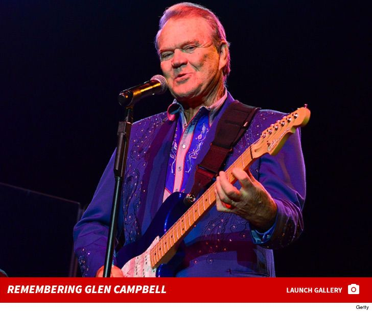 "Glen Campbell, best known for his 1975 hit ""Rhinestone Cowboy,"" has died after battling Alzheimer's."