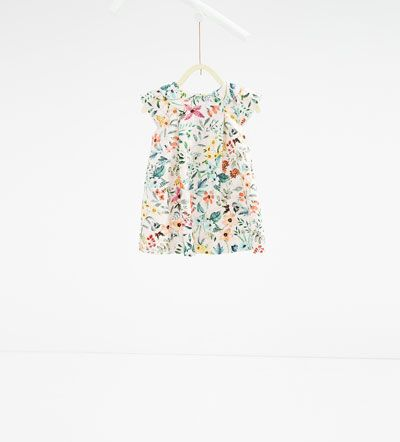 Floral dress-DRESSES AND JUMPSUITS-BABY GIRL | 3 months-3 years-KIDS | ZARA United States