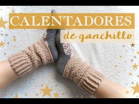Cómo hacer unos calentadores de ganchillo | Crochet warmers - YouTube