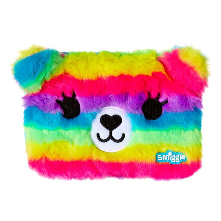 Image for Fluffy Bear Hardtop Pencil Case from Smiggle