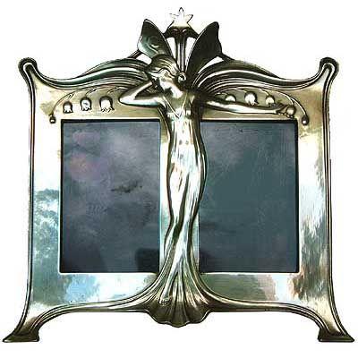 1129 best art nouveau art deco images on pinterest art for Miroir art nouveau