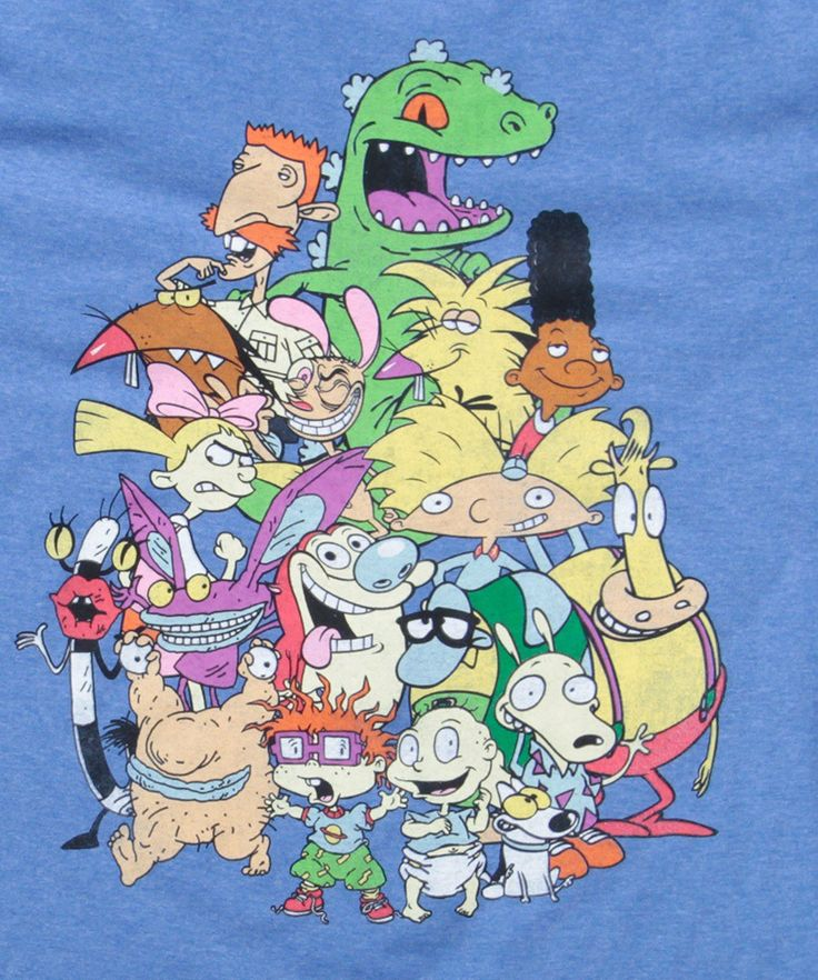Nickelodeon Old School Group Shot