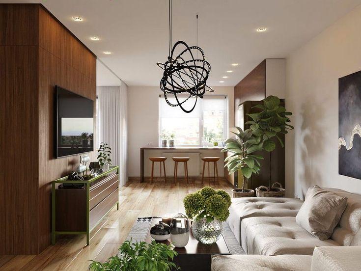 2 remek ötletadó egyszobás stúdió lakás berendezés - hálószoba leválasztások nyitott térben