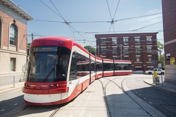 Toronto's new streetcars