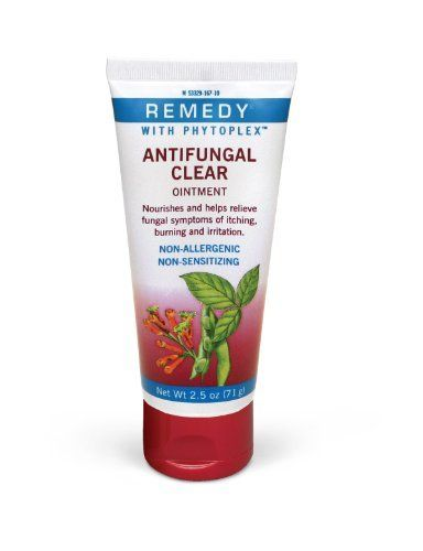 Remedy Phytoplex Antifungal Ointment by Medline. $21.02. -. Container Type - Flip Top Squeeze Tube. Active Ingredient - Miconazole Nitrate. Enhanced Ingredients - Phytoplex. - Helps relieve itching, cracking, scaling and discomfort associated with most common superficial fungal infections - Miconazole nitrate 2.0% in a petrolatum base formula - With carboxymethyl cellulose (CMC) to help adhere to wet or damp skin - Invisible shield allows for easy monitoring - Ideal for ch...