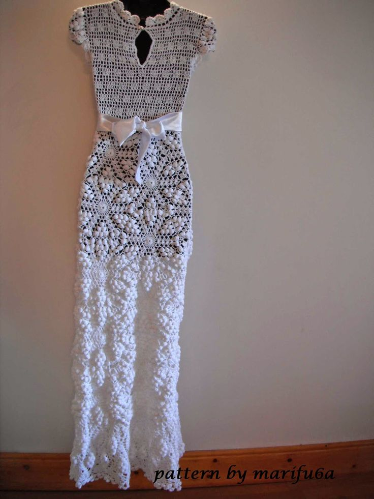 Best 25 Crochet wedding dresses images on Pinterest | Crochet ...