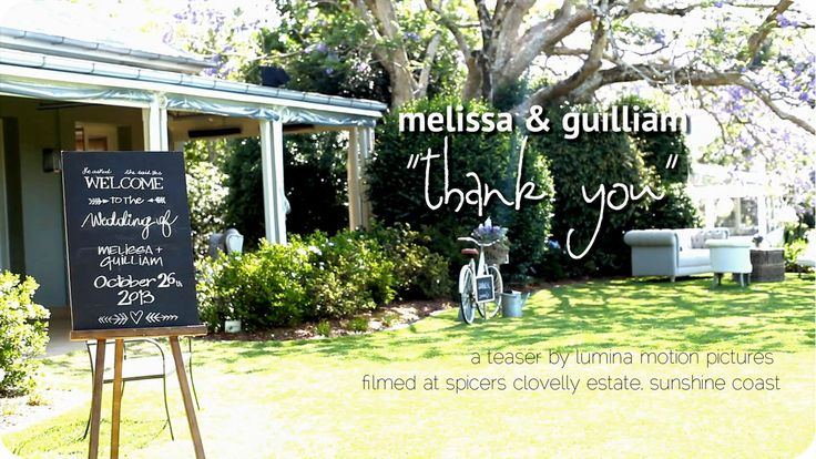 Melissa & Guilliam | Thank You | A Spicers Clovelly Wedding. What a wonderful day! Based at the stunning Spicers Clovelly Estate, the bride ...
