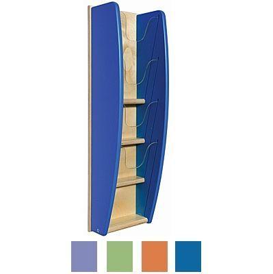 Wall Mounted Leaflet Holder/Book Rack