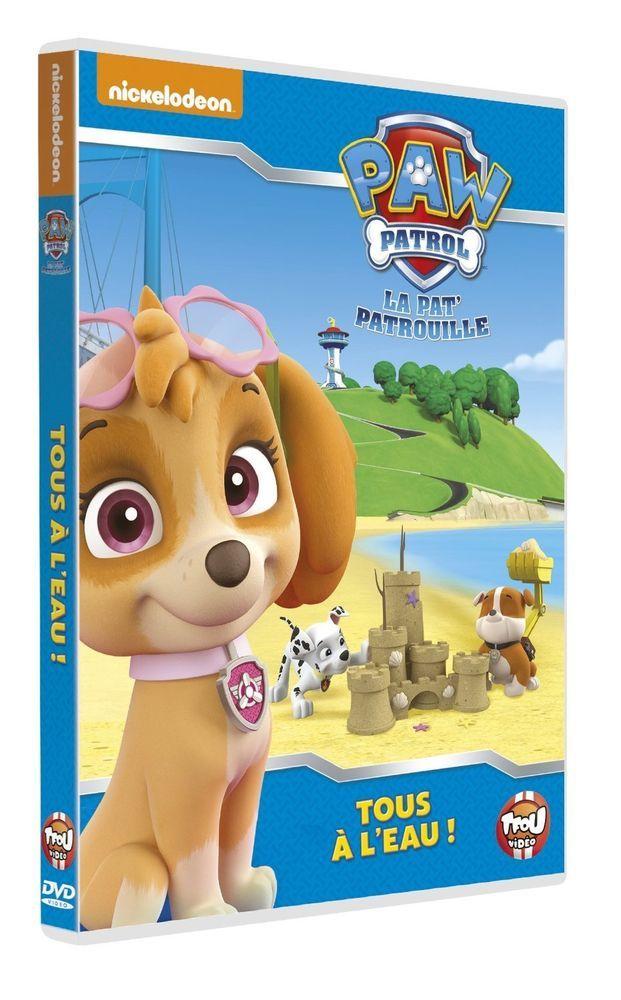 Paw Patrol, La Pat  Patrouille - 8 - Tous à l eau ! - DVD