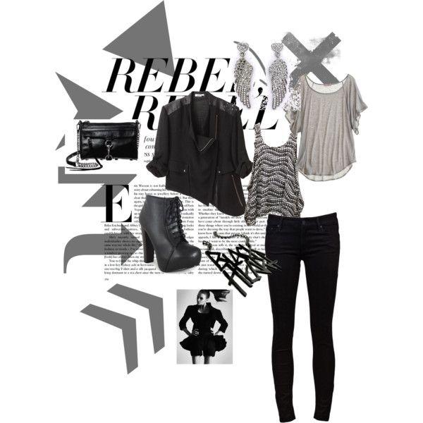 """rebel"" by lenka-fazulkova on Polyvore"