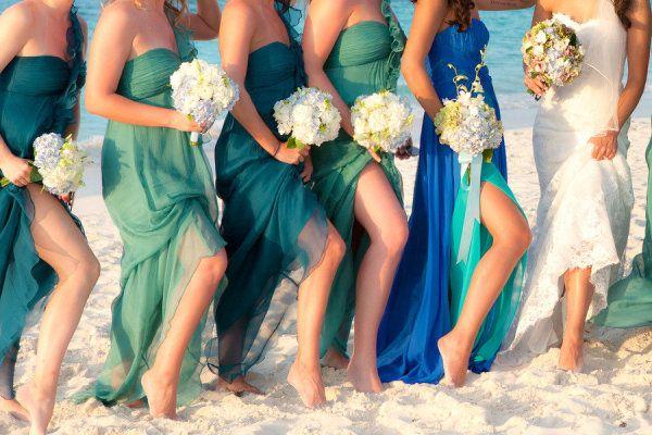 Photography by wedding.sandraaberg.com  Read more - http://www.stylemepretty.com/2012/07/05/turks-and-caicos-wedding-at-gansevoort-by-sandra-aberg-photography/: Beaches, Wedding Color, Wedding Ideas, Bridesmaid Dresses, Beachwedding, Colors, Bridesmaids Dresses, Beach Weddings, Dream Wedding