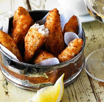Lemon & Pepper Goujons