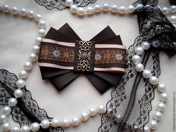 """Купить Брошь-орден""""Шоколадный микс""""ПРОДАНО - коричневый, брошь, брошка, брошь ручной работы, броши"""