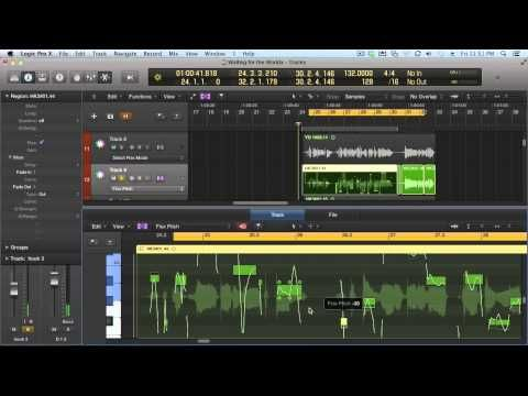▶ Logic Pro X - Flex Time and Flex Pitch [tutorial] - YouTube
