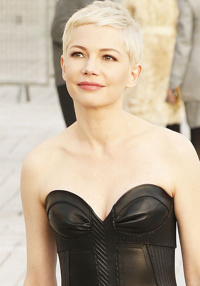 4533 best images about Hair on Pinterest | Short pixie ... Michelle Williams