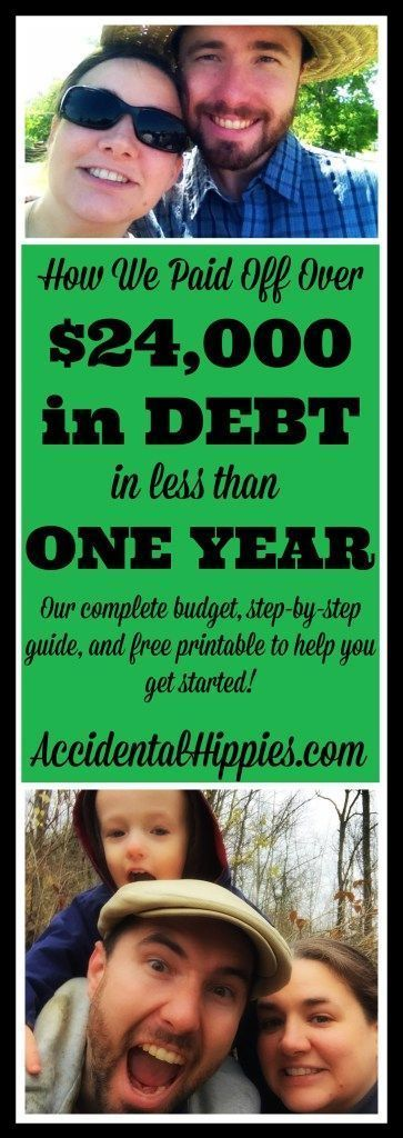 We were tired of being broke, so we paid off $24,000 of debt in less than one year so that we could afford to buy land and build a homestead debt free! Read about HOW we did it and get our complete budget, step-by-step guide, and free printables to get you started on your path to financial freedom!