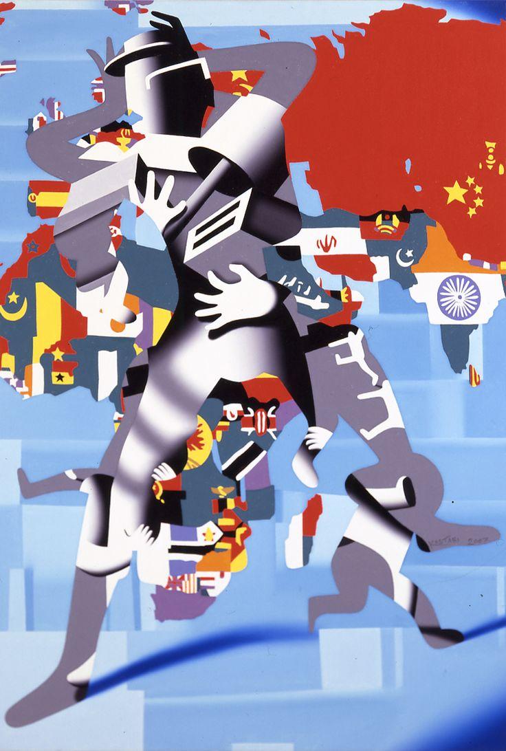 Mark Kostabi - Escape from Domestic Communism
