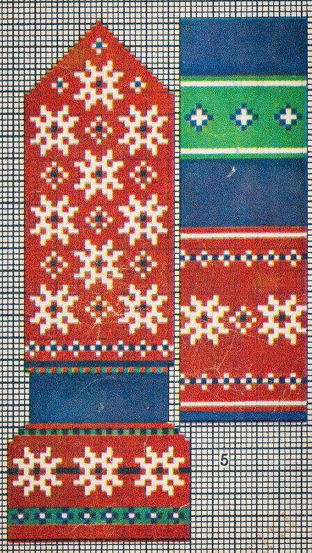 """1957. aasta """"Käsitöö Albumist"""" leiab hunnituid mustreid: moes on kõik rahvusromantiline. Kirkad värvid püüavad pilku ning küllap nii mõnigi käsitööhuviline leiab endale siit midagi, mis peagi ka käsi soojendama hakkab!"""