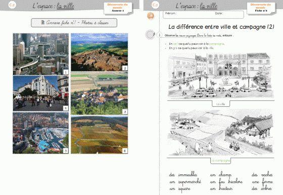 DDM CP/CE1 - Séquence sur la ville - Cycle 2 ~ Orphéecole
