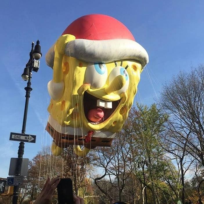 Happy #Thanksgiving from #NewYork! Macy's parade was amazing, as always!  Felice Giorno del #Ringraziamento da New York! La parata di Macy's anche quest'anno è stata fantastica!