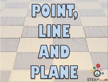 Plane Geometrydeals with flat 2-D (2 dimensional) shapes like lines, circles and triangles. The most basic element in geometry is a point. Let's learn more about points, lines, rays, line segments, and planes.