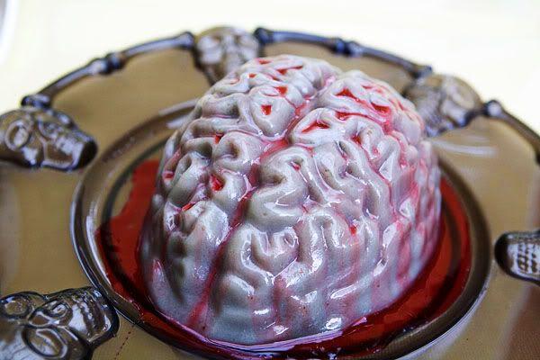 The Spooky Vegan: 31 Days of Halloween: Vegan Gelatin Recipe for Zombie Brains