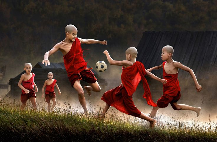 32 magical pictures with children from around the world