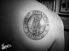 st christopher small tattoo - Google Search