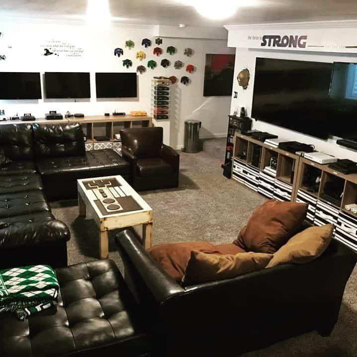 Living Room Game Station By Retrobutionyt Video Game Rooms Game Room Video Game Room