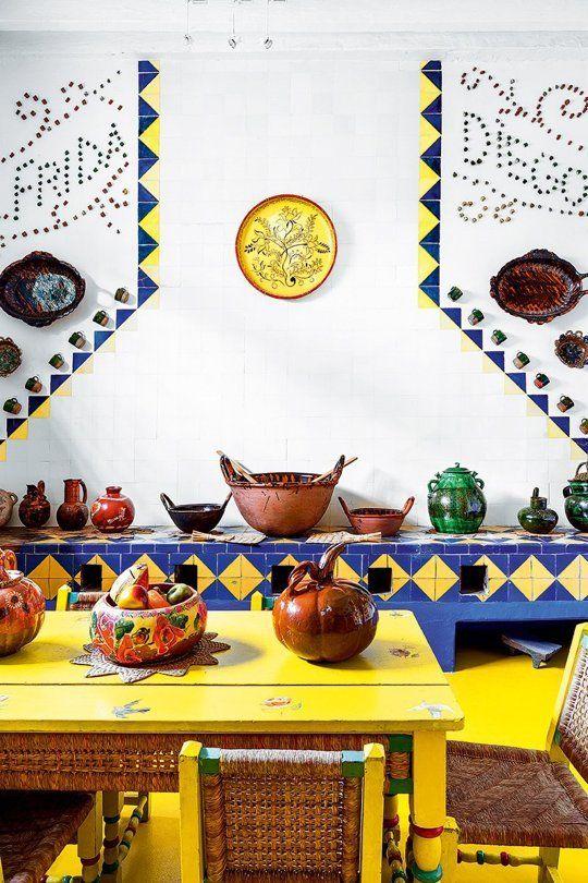 Frida Kahlo's home = serious design inspiration! — iris mclister