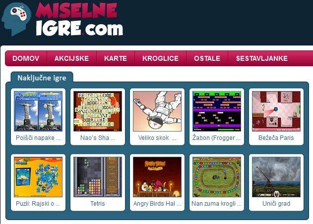 MiselneIgre.com - vse najboljše miselne igre na enem mestu. Najboljša izbira, ko se želite zabavati in razmigati možgane hkrati >> miselne igre --> http://miselneigre.com/
