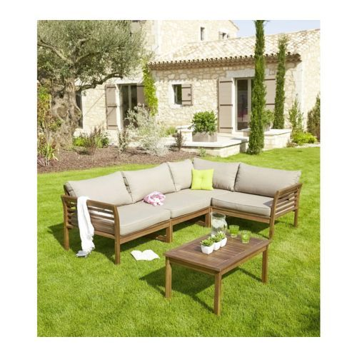 58 best images about salon de jardin on pinterest taupe - Sofas jardin carrefour ...