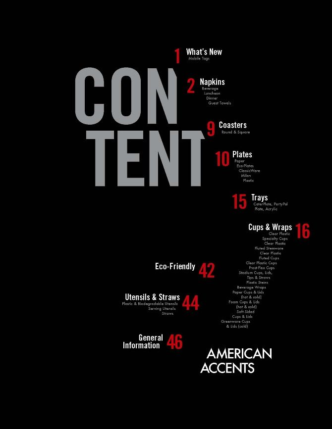 17 Best images about table of contents on Pinterest
