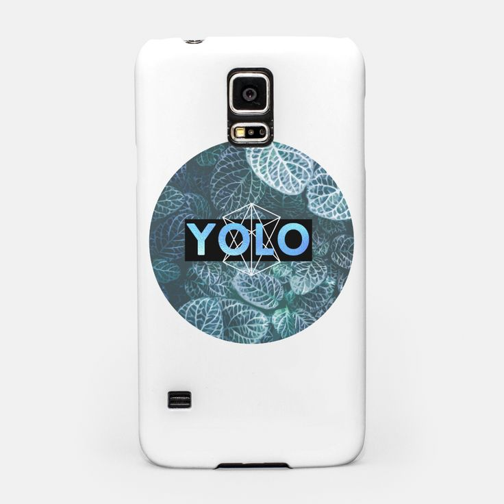 YOLO Samsung Case, Live Heroes