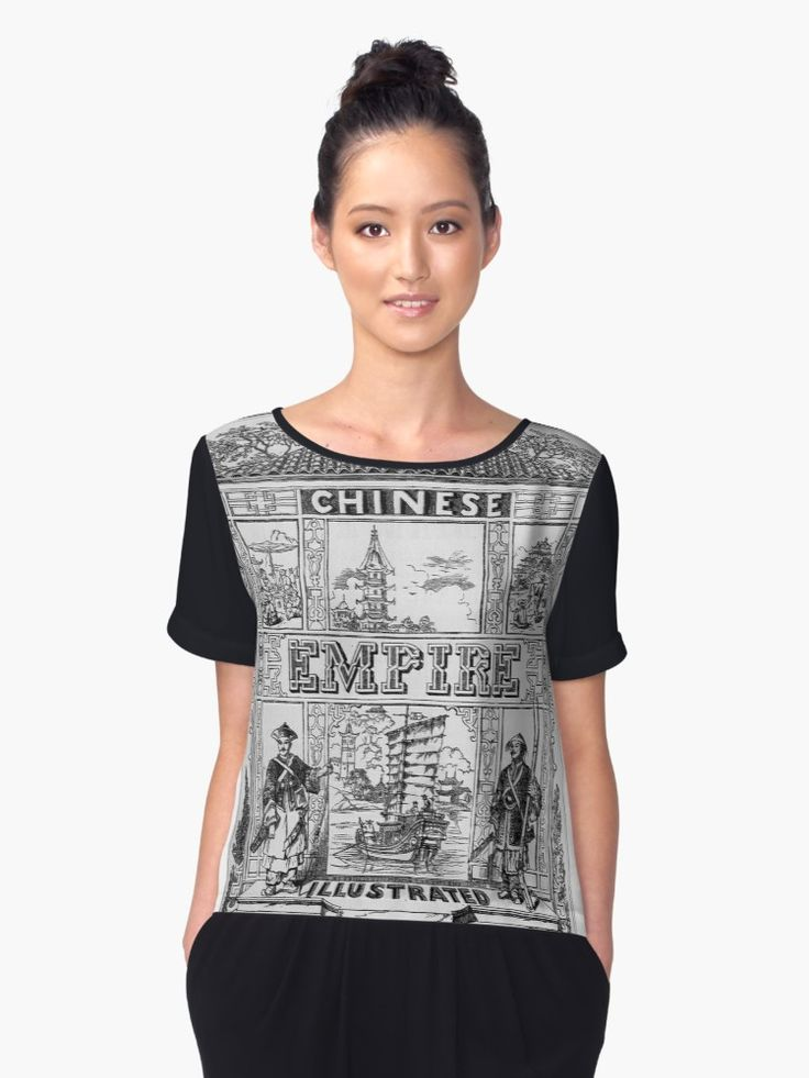 Beautifully unique Tee-Shirt, originally hand-drawn artwork from the 1800s illustrating the History of China. A piece of history depicting a piece of history on a awesome Graphic Tee.
