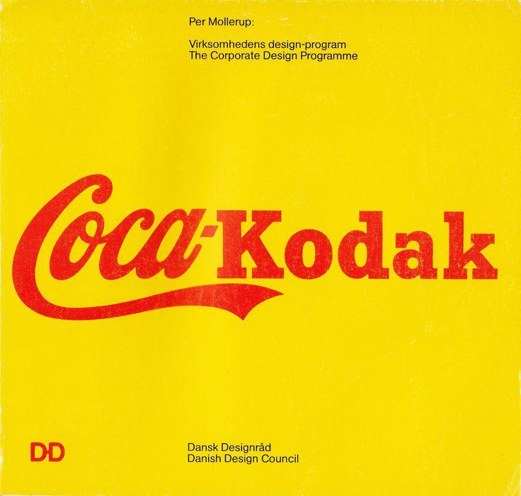 Per Mollerup Coca-Kodak: the corporate design programme (Volume 2 from Danish Design Council)