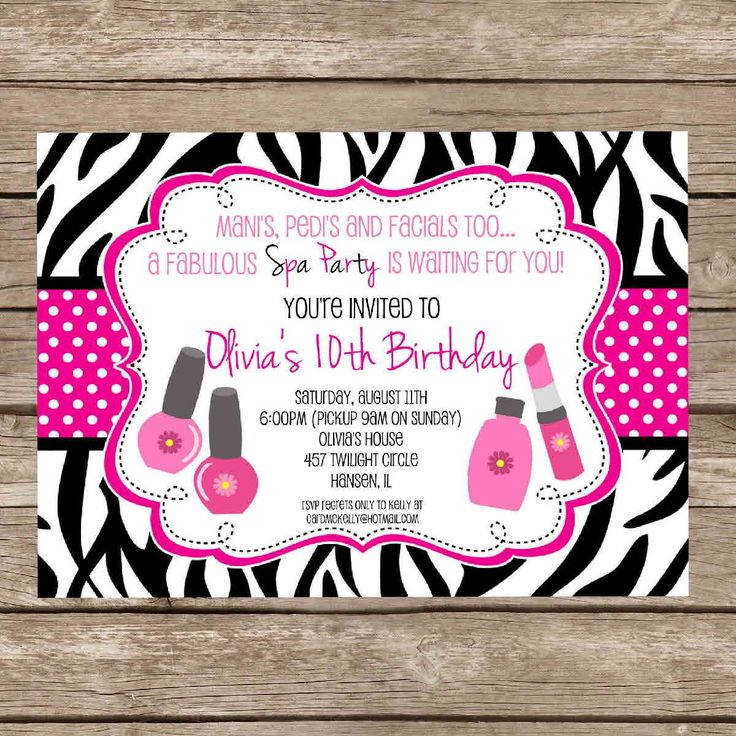 12 best barbie birthday invitations images on pinterest | kid, Birthday invitations