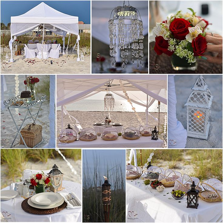 Beach Wedding Altar Decorations