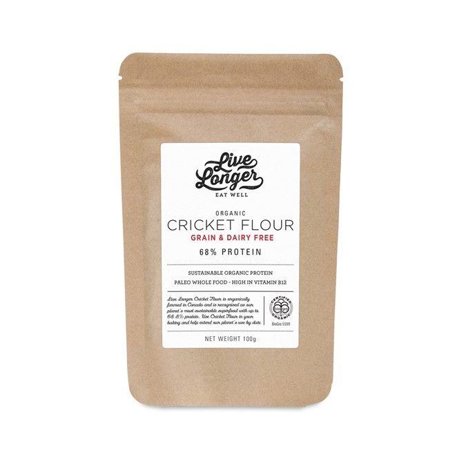 Organic Cricket Flour