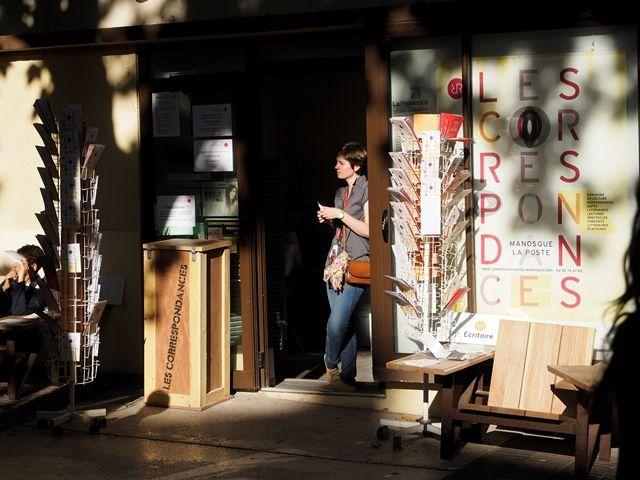 En attendant les #Correspondances à #Manosque  Crédits : Laurent Gayte- Manosque - 2014