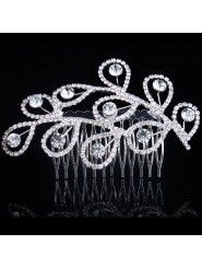 Beauitful Alloy and Rhinestiones Bridal Combs (More Colors Available)