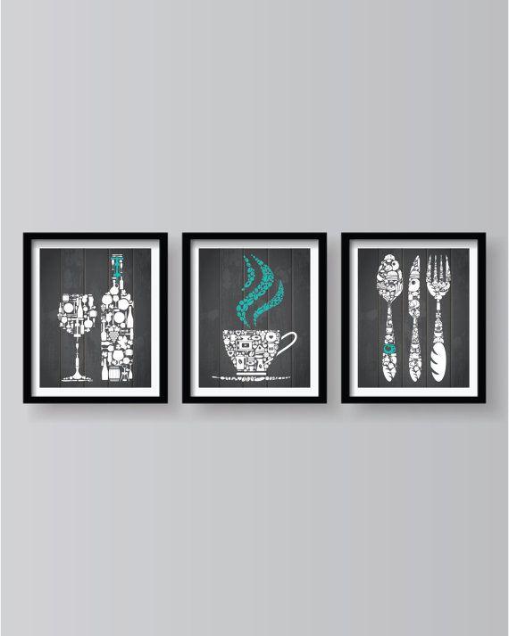 Küche Dekor Küche Wand Kunst Küche Küchenkunst Von BlackPelican · KaffeeKüchen  IdeenOlivenKuchenEinrichtungKüche ...