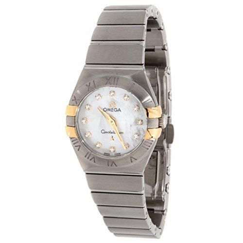 Omega Constellation quartz womens Watch 123.20.24.60.55.006 (Certified Pre-owned...
