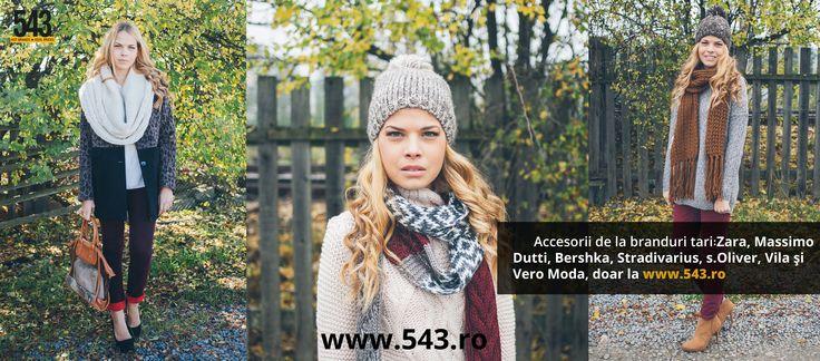 Accesorii de la branduri tari:   Zara, Massimo Dutti, Bershka, Stradivarius, s.Oliver, Vila şi Vero Moda, doar la www.543.ro
