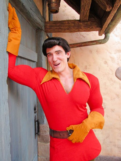 """Gaston@ Disney World would like to who """"assists"""" him"""