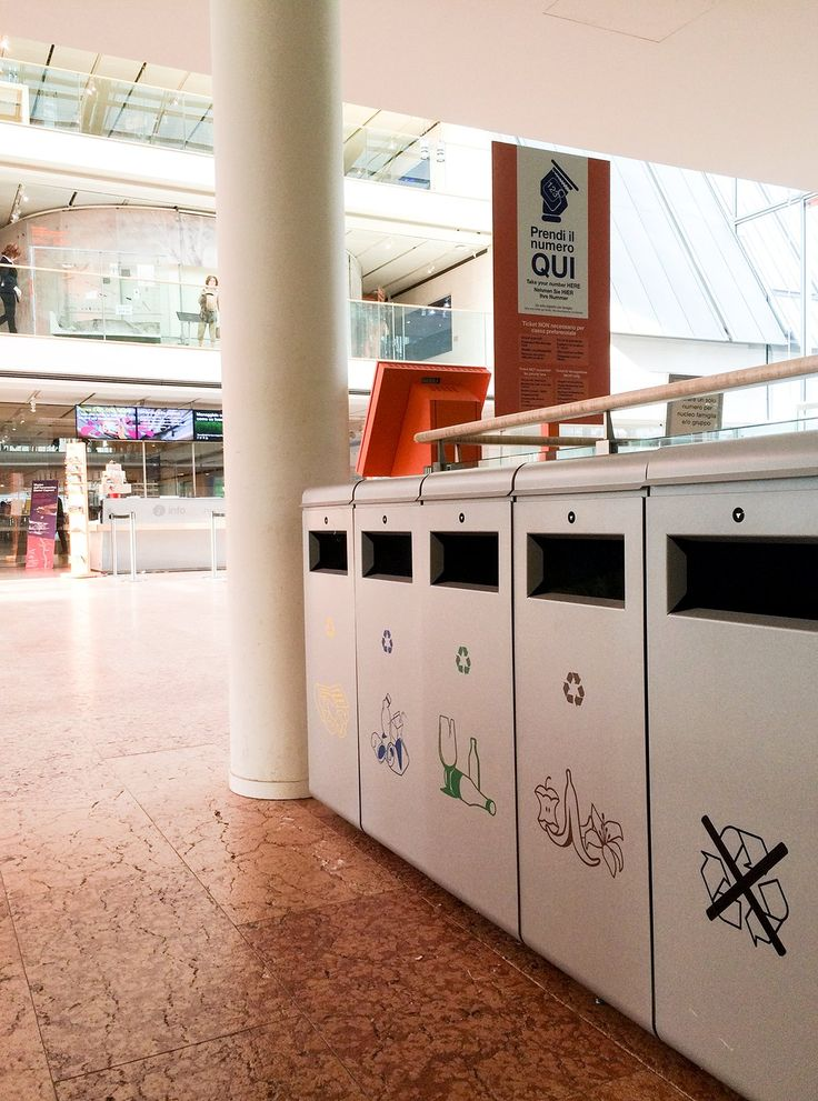 Street Furniture Enters The Cultural World: The Ecoside Litterbin, Design  By Alfredo Tasca,