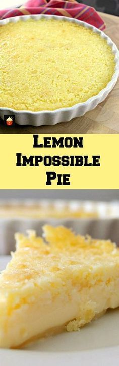 The flavor of lemon and coconut together makes the taste of this Lemon Impossible Pie so delightful. Also, it is easy and quick to make!