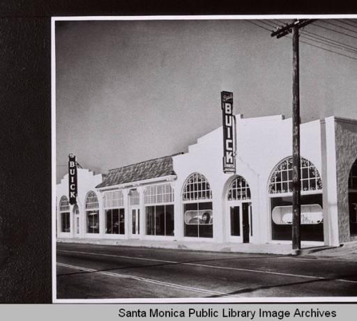 cummings buick dealership 1937 1940 santa monica past pinterest buick. Black Bedroom Furniture Sets. Home Design Ideas