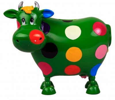Archies Money Bank. http://www.babyoye.com/archies-money-bank-cow-green.html