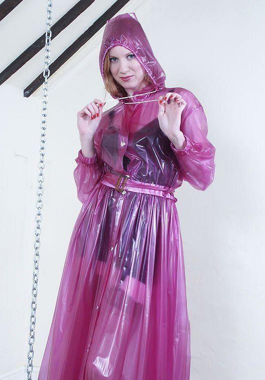 Plastic Raincoat Fetish 43